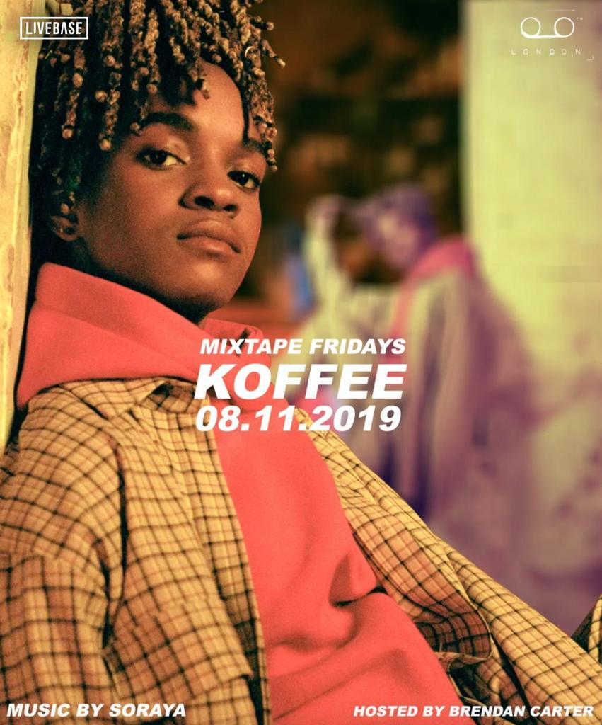 koffee tape london 08 NOV 2019