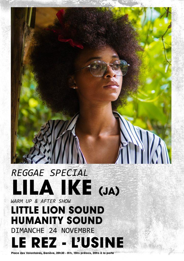 lila Ike - USINE - 24 Nov 2019