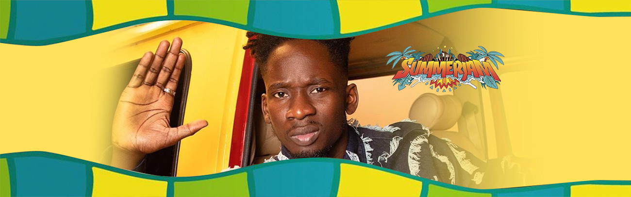 mr Eazi summerjam 3 JUL 2019