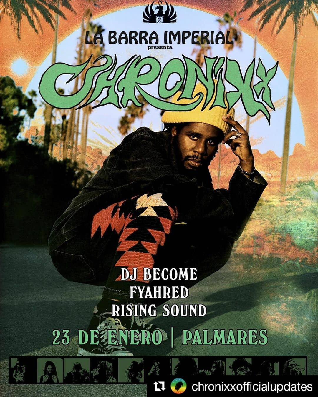 chronixx palmares costa rica JAN 2020
