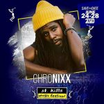 chronixx st kitts festival 27 JUN 2020
