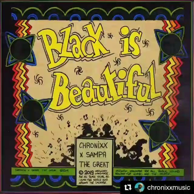 #Repost @chronixxmusic ・・・ This song was a letter to the African in America. I never really liked the word 'black' to describe who I am because I don't think that's the way my fathers thought of themselves in ancient times....still I knew that's what I needed to say to address it to the right people. In deep thought and self searching I found endless beauty in what the lyrics meant and completed writing the lyrics for the original version in my journal. From my album this was one of 2 or 3 songs written on paper. Big respect to all the artists  who have sacrificed having a favorable position in the music industry in order to remain in the position to affect humanity positively with their art. You are the reason why they are songs that really matter right now. You are the reason why some African people and a lot of human beings in general have a means of awakening. You are the reason why youths can see that their lives are divine and that they deserve to live and not die. You are the reason why the whole world is not in darkness right now. To every other artist who can't post/recite/share a work from your life of work that can transform minds and awaken....your music has only made everything more complicated. Still I pray that the almighty jah guide and protect all of humanity.  This song features the voice of a powerful and resilient African Queen @sampa_the_great