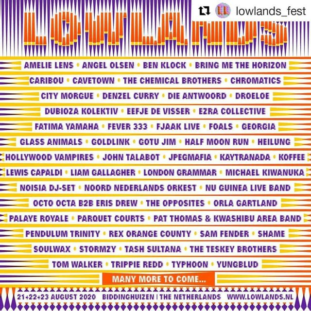 Koffee announced at @lowlands_fest, August 2020. . . . . #koffee #originalkoffee #Reggae #Lowlands #musicfestival